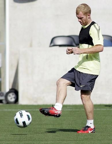 Man Utd - Training in the USA
