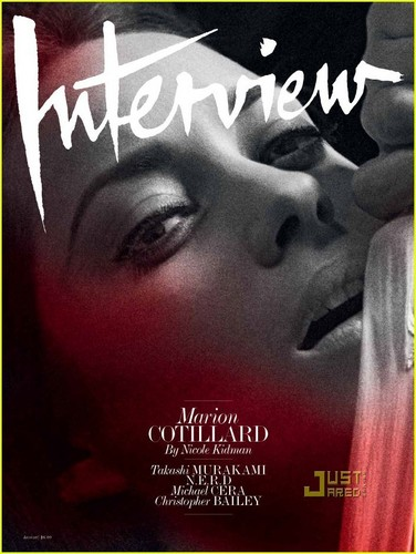 Marion Cotillard Covers 'Interview' August 2010