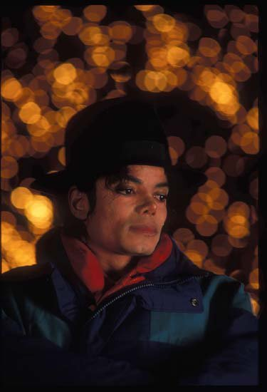 Michael Jackson 1991 photoshoot by Dilip Metah