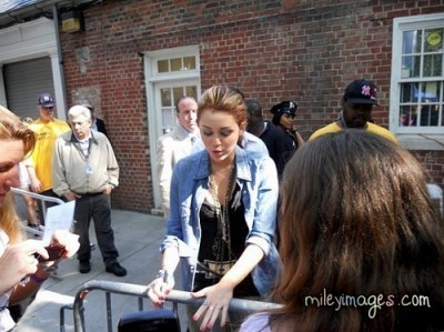 Miley in NYC