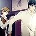 Miyagi and Shinobu - junjou-terrorist icon
