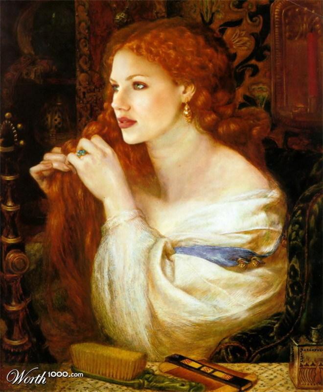 Modern Renaissance-Scarlett Johansson-