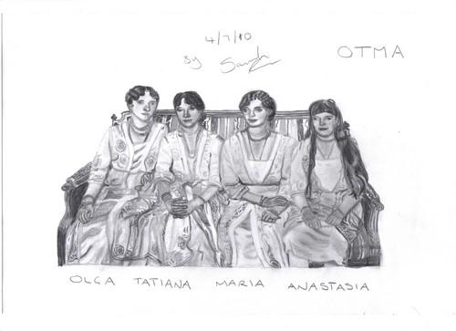 My OTMA Drawing