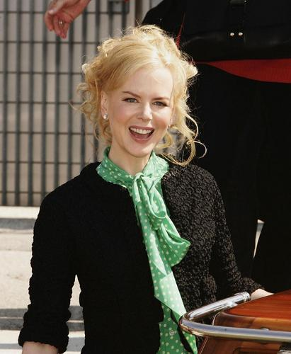 Nicole at Venice Film Festival