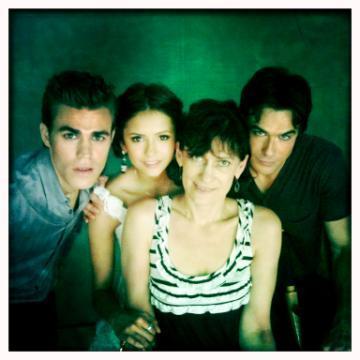 Nina, Ian, Paul and MamaWesley