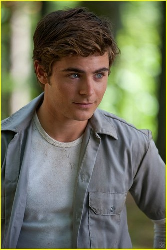 Pic from Zac's new movie ''Charlie St Cloud''