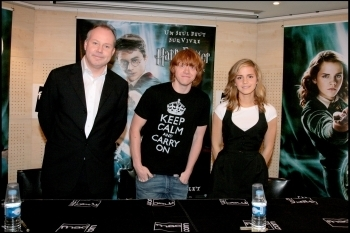 Romione(ロン&ハーマイオニー) - Order of the Phoenix Autograph Signing Session at FNAC Paris