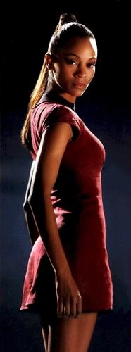 Zoë Saldaña as Uhura wallpaper titled Saldana_Uhura