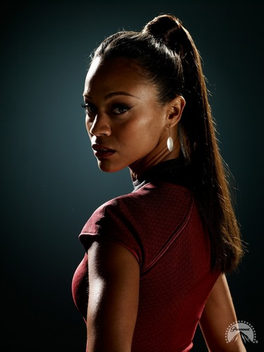 Zoë Saldaña as Uhura wallpaper titled Saldana_Uhura