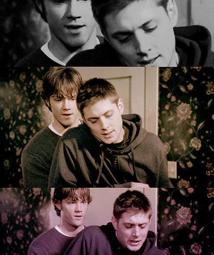 Wincest দেওয়ালপত্র entitled Sam & Dean