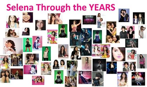 Selena Through The YEARS