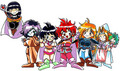 Slayers chibies
