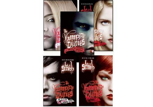 Vampire Diaries Books wallpaper titled THE 5 BOOKS