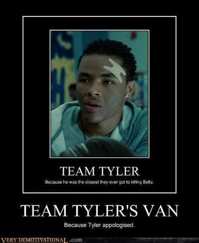 Harry Potter Vs. Twilight wallpaper entitled Team Tyler's Van