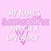Text:Loveaholic