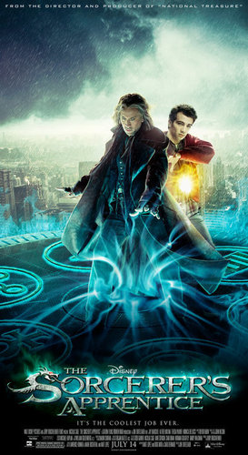 The Sorcerer's Apprentice official poster<3