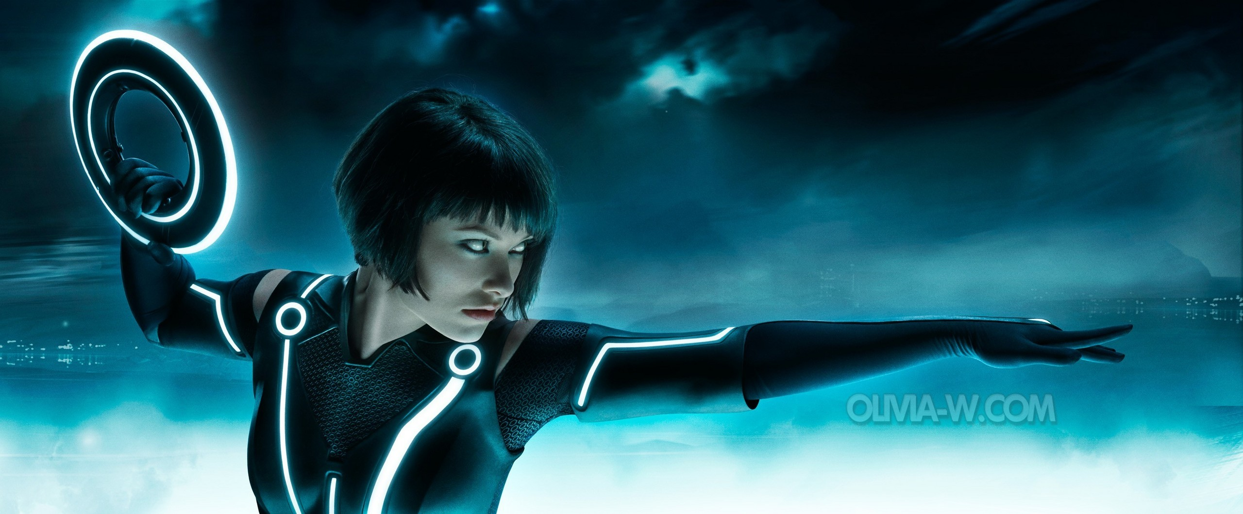 olivia wilde tron wallpaper