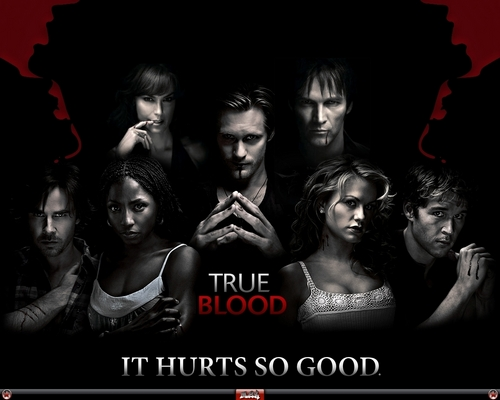 True Blood - vampires Wallpaper