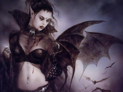 Vampire Wallpapers by Luis Royo - vampires Photo