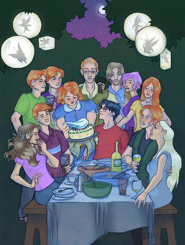 Weasley Family árbol