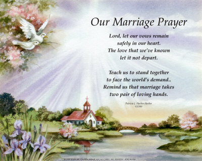 Wedding Prayer For Peter And Susie <3