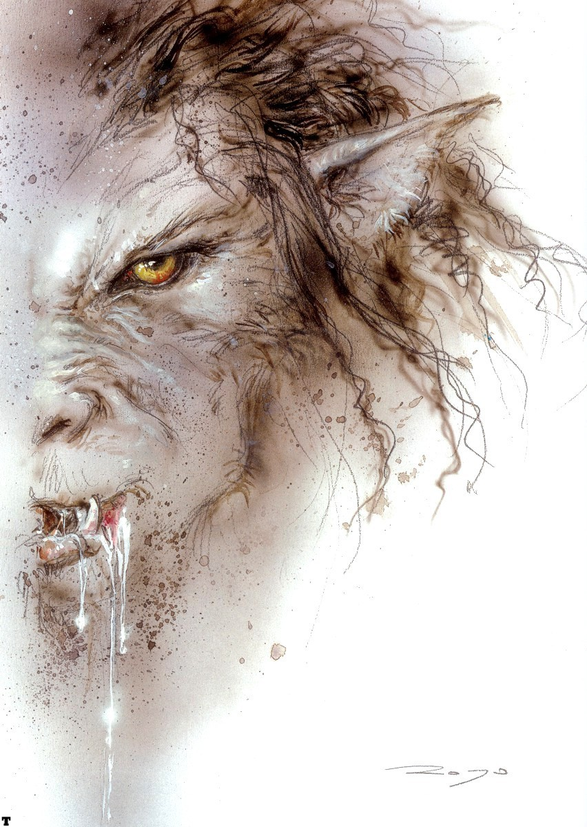 Werewolves by Luis Royo