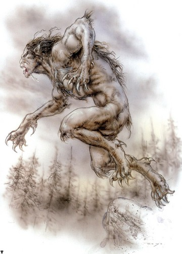 Werewolves door Luis Royo