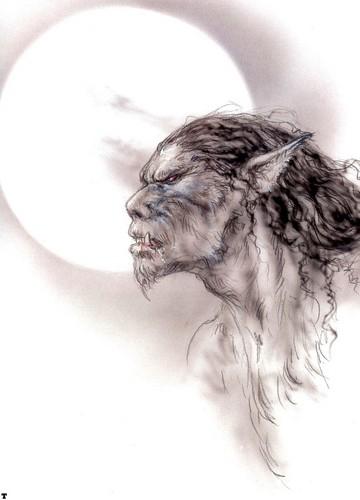 狼人 由 Luis Royo