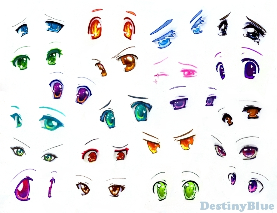 Anime Eyes Anime Fan Art 13910089 Fanpop