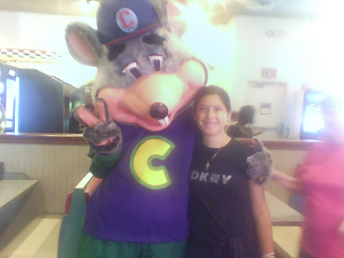 chuck e. cheese and destiny