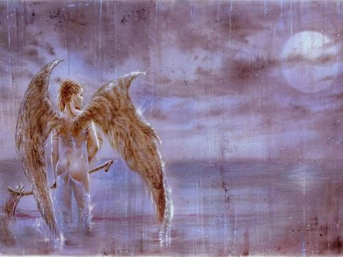 fantastic Angel karatasi la kupamba ukuta