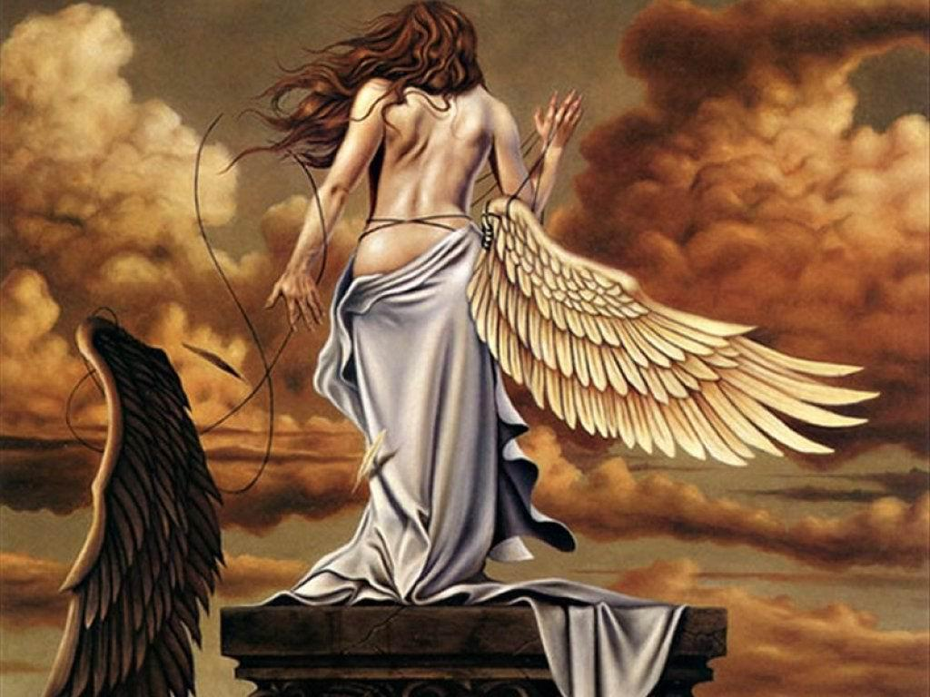 Fantasy fantastic angel wallpaper