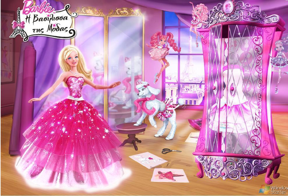 Barbie A Fashion Fairytale Movie