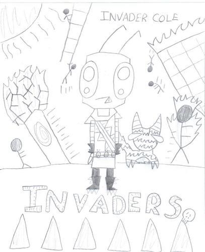 invader cole