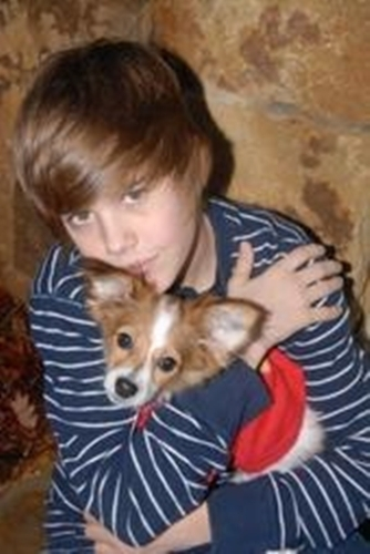 jb with his dog