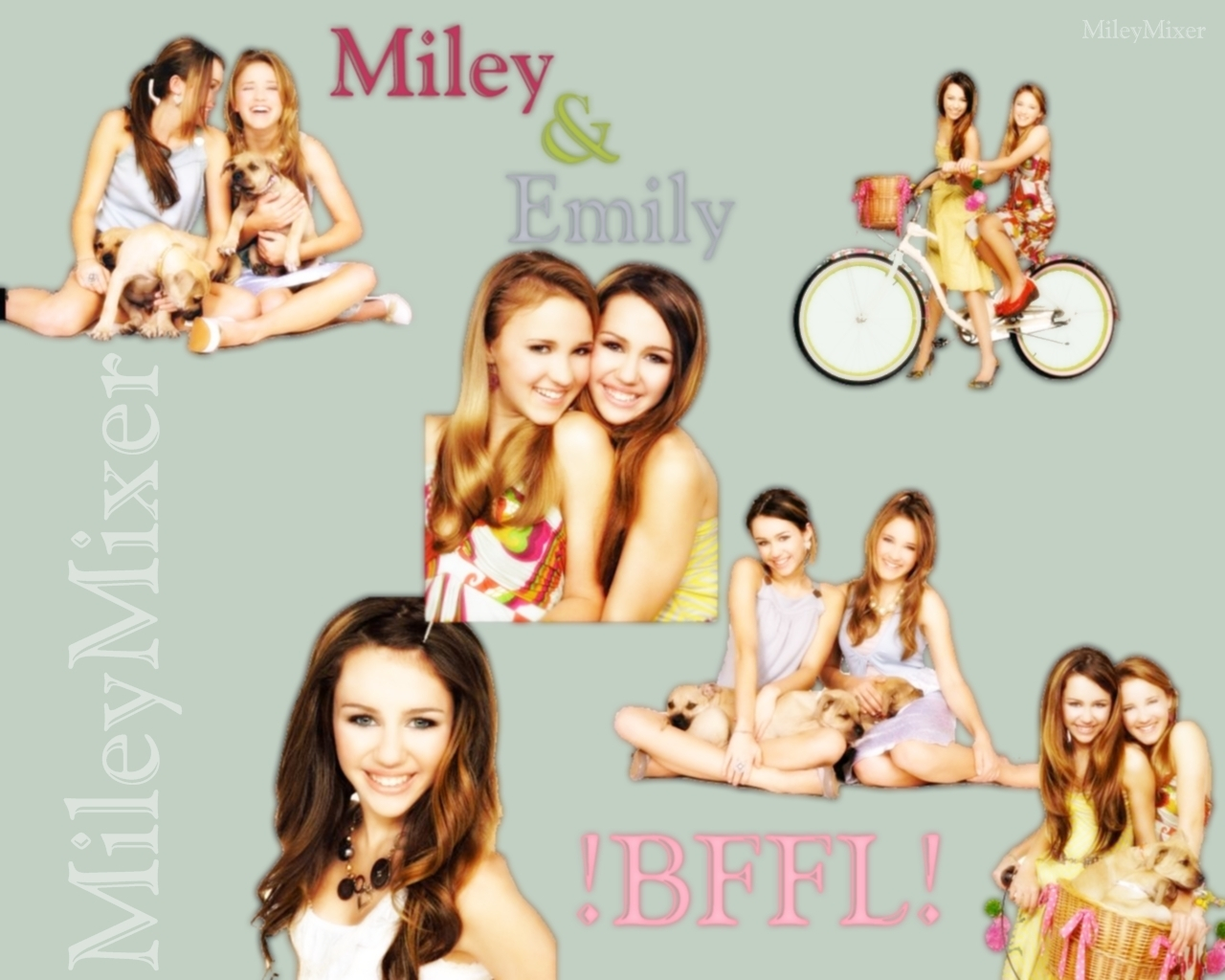 Miley Cyrus and Emily Osment images mc,eo HD wallpaper and background photos