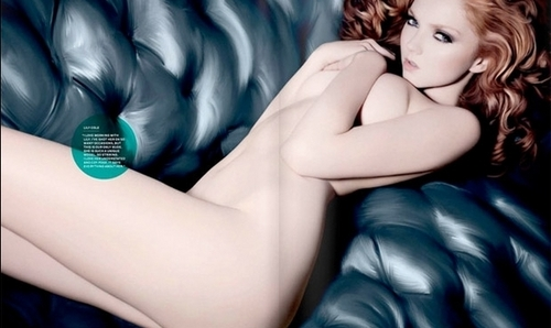 naked Lily - lily-cole Photo