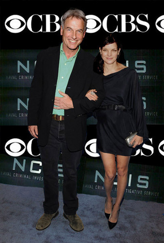 pauley & mark (gibbs and abby) NCIS - CBS