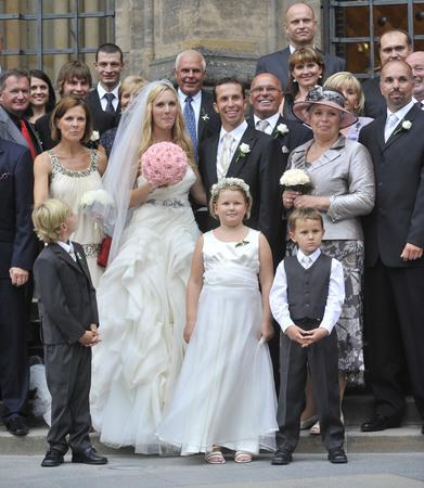 tenis wedding