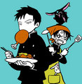 xxxHolic dinnertime - anime fan art