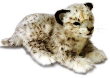 Snow Leopard Soft Toy For Raffy <3
