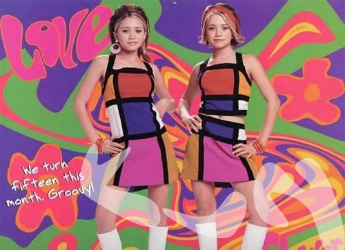 Mary-Kate & Ashley Olsen wallpaper called 2001