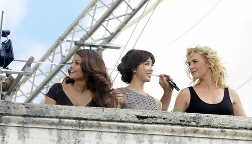 "Aishwarya Rai, Kate Winslet & Chi-ling Lin for ""Swiss watchmaker Logines"""
