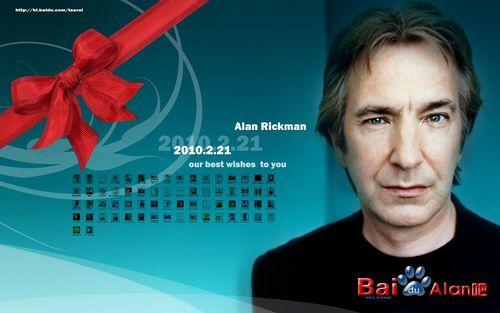 Alan Rickman achtergrond