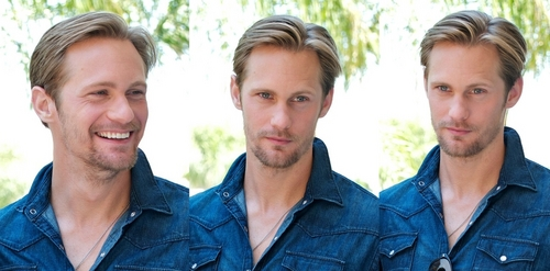 Alexander Skarsgard — True Blood press conference (July 14th).