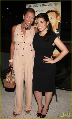 America Ferrara: 'Dry Land' Premiere with Vanessa Williams!