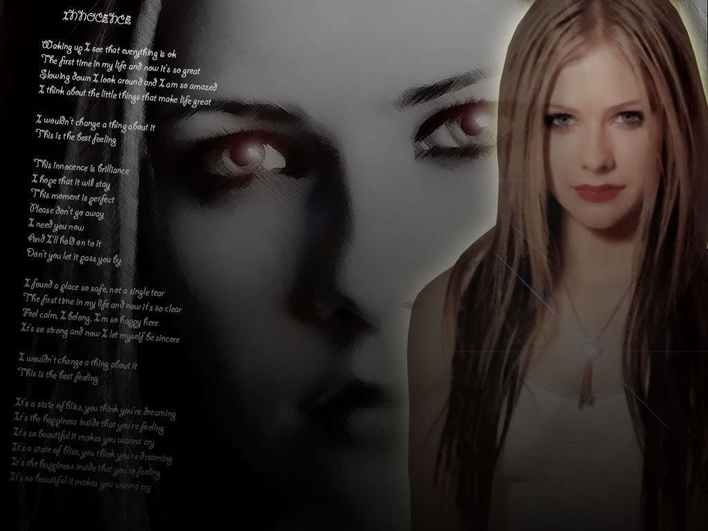 Mainly Avril lavigne innocent Plato's