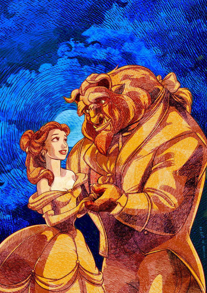 Classic Disney images Beauty and the Beast HD wallpaper ...