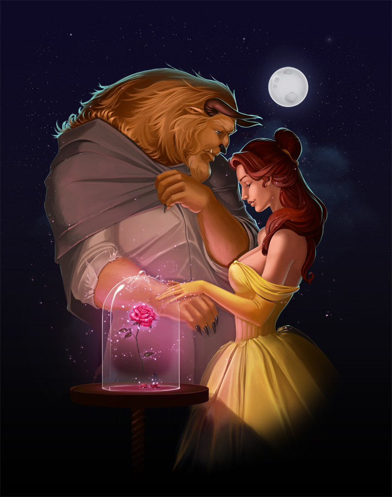 Beauty and the Beast - Classic Disney Fan Art (14022201 ...