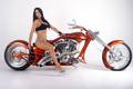 CHOPPER BABE - motorcycles photo